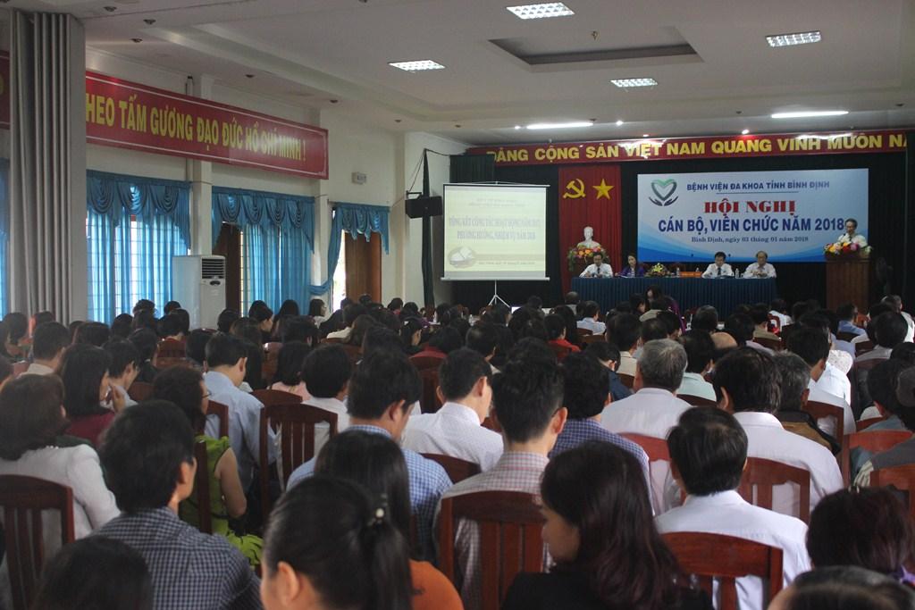 Bệnh viện Đa khoa tỉnh tổ chức Hội nghị Cán bộ, Viên chức năm 2018