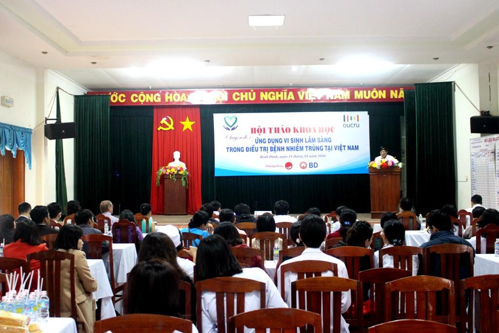 """Hội thảo Khoa học chuyên đề """"Ứng dụng vi lâm sàng trong điều trị bệnh nhiễm trùng tại Việt Nam"""
