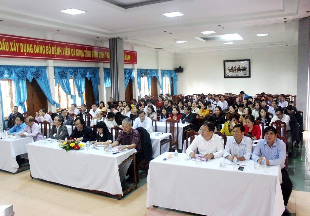 BVĐK tỉnh tổ chức Hội nghị Tổng kết công tác Bệnh viện năm 2017 & Phương hướng, nhiệm vụ năm 2018