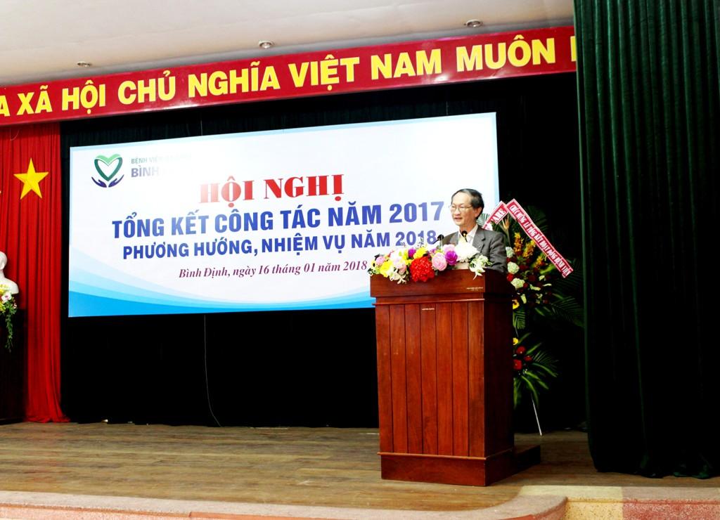 10 Nhiệm vụ trọng tâm của BVĐK tỉnh Bình Định năm 2018