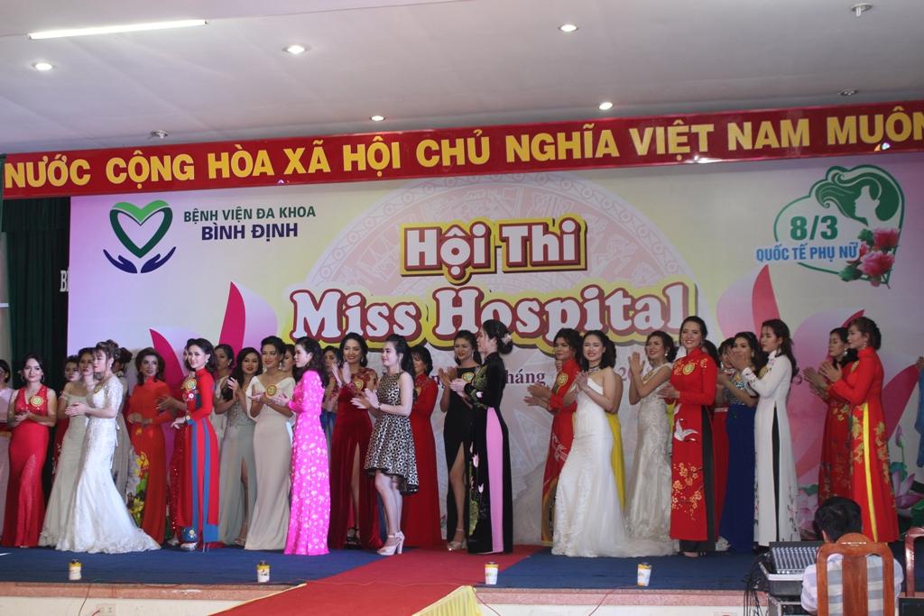 Hội thi Miss Hospital Bệnh viện đa khoa tỉnh Bình Định lần thứ nhất năm 2018