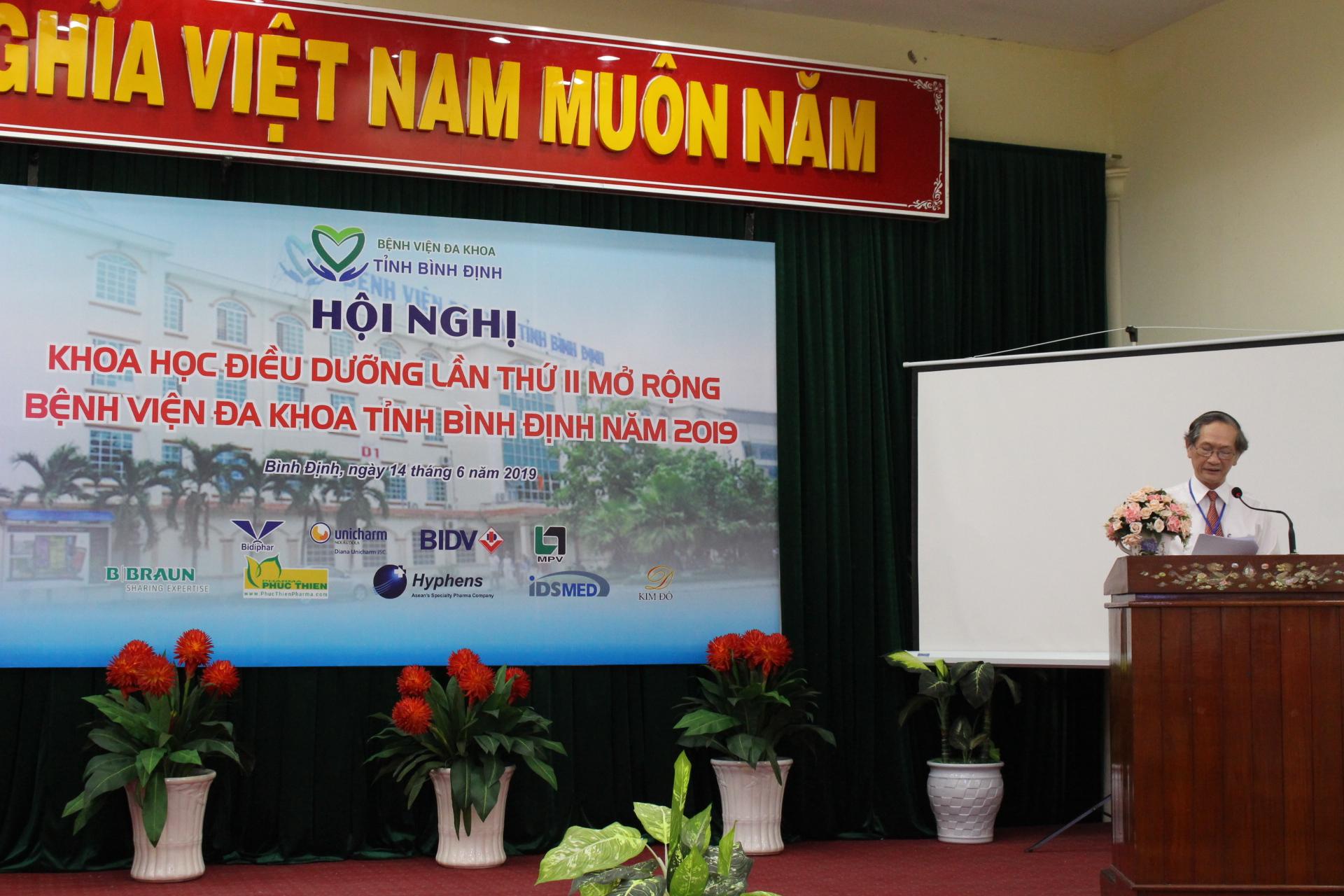 BVĐK tỉnh Bình Định tổ chức Hội nghị khoa học Điều dưỡng lần II mở rộng năm 2019