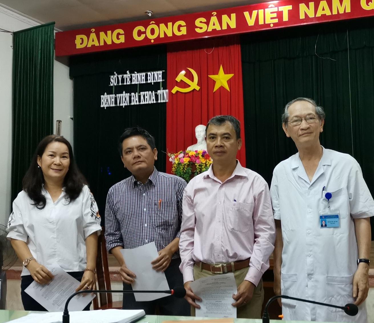 Thành lập khoa mới tại Bệnh viện Đa khoa tỉnh Bình Định