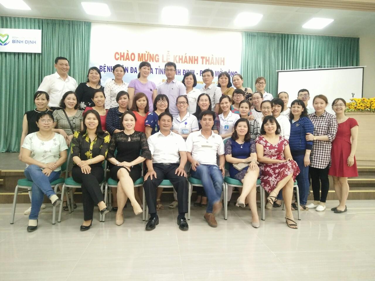 Bệnh viện đa khoa tỉnh Bình Định tổ chức khóa - Đào tạo giảng viên/người hướng dẫn thực hành lâm sàng (TOT)