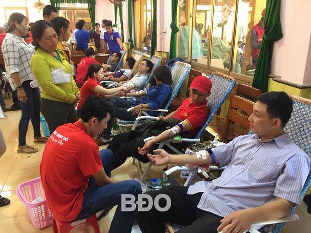 Hoài Nhơn tổ chức hiến máu đợt 1 năm 2019
