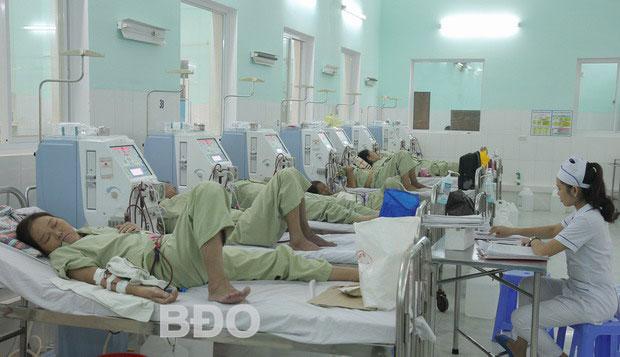 BVÐK khu vực Phú Phong ngừng chạy thận nhân tạo: Thêm áp lực cho BVÐK tỉnh