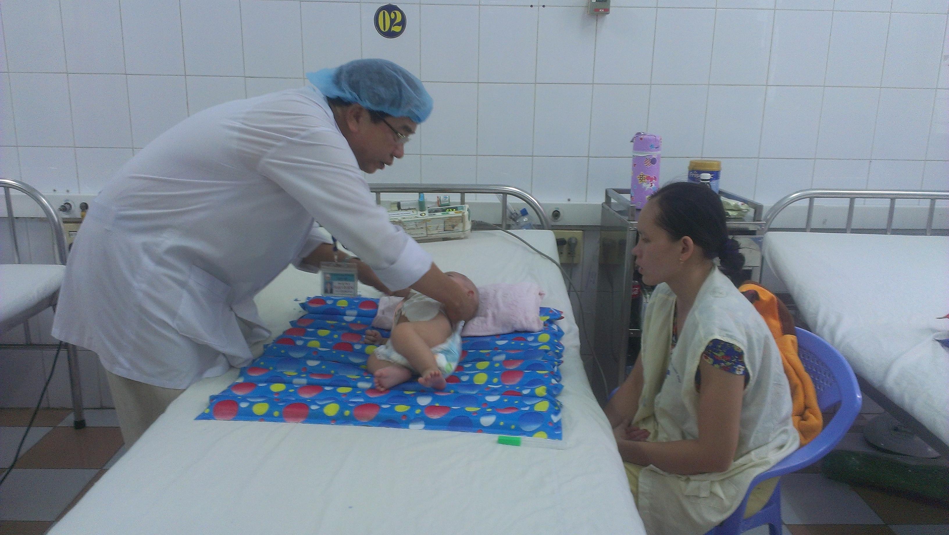 Xử trí một số bệnh thường gặp ở trẻ em