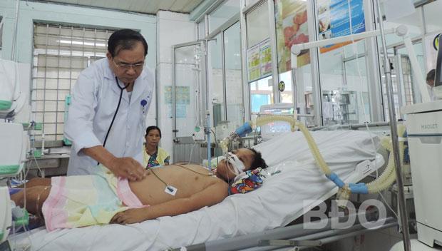 Nhiều trẻ mắc sốt xuất huyết nặng