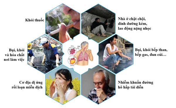 Phòng bệnh viêm phổi ở người cao tuổi