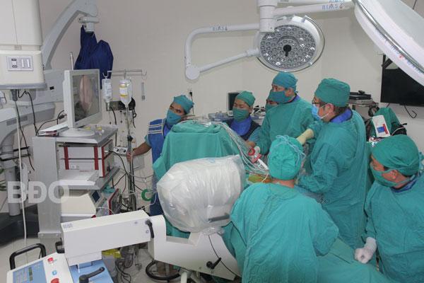 BVĐK tỉnh tiếp nhận thêm hai kỹ thuật điều trị mới