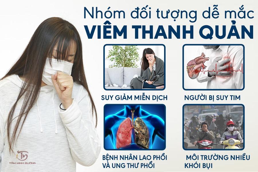Bệnh viêm thanh quản